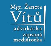 Advokátní kancelář, Žaneta Vítů, advokátka, mediátorka