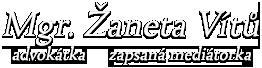 Advokátní kancelář | Žaneta Vítů, advokátka a mediátorka